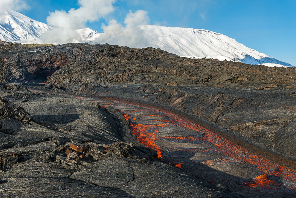 HD вулканы вулкан Камчатка действия массив Первый