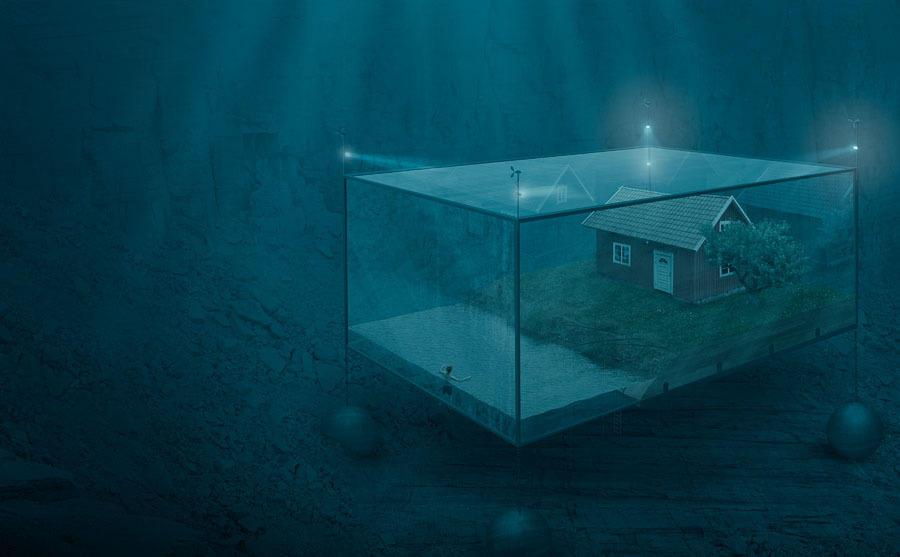 Необычные фото Эрика Йоханссона