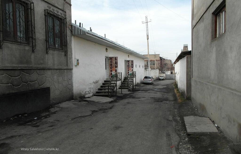 Переулок в Оше
