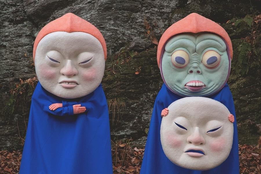 Гаргантюанские маски Паоло Дель Торо