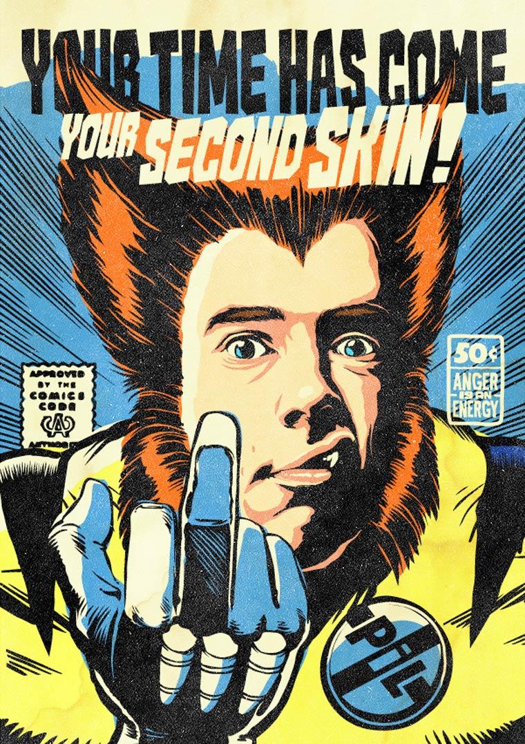 featured Illustration popular geek universe pop culture super-heros