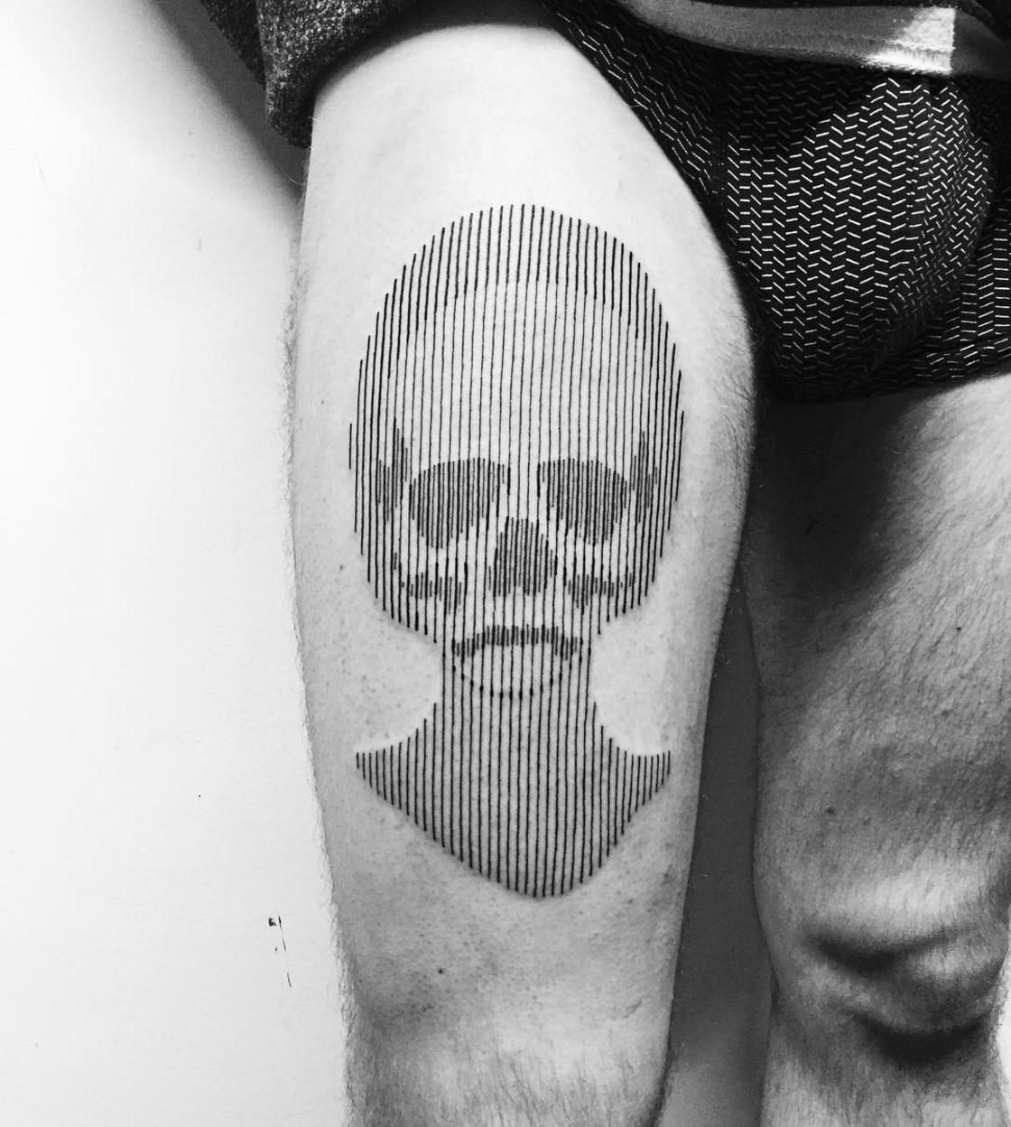Lines and Dots – The amazing tattoos by Francesco Rossetti