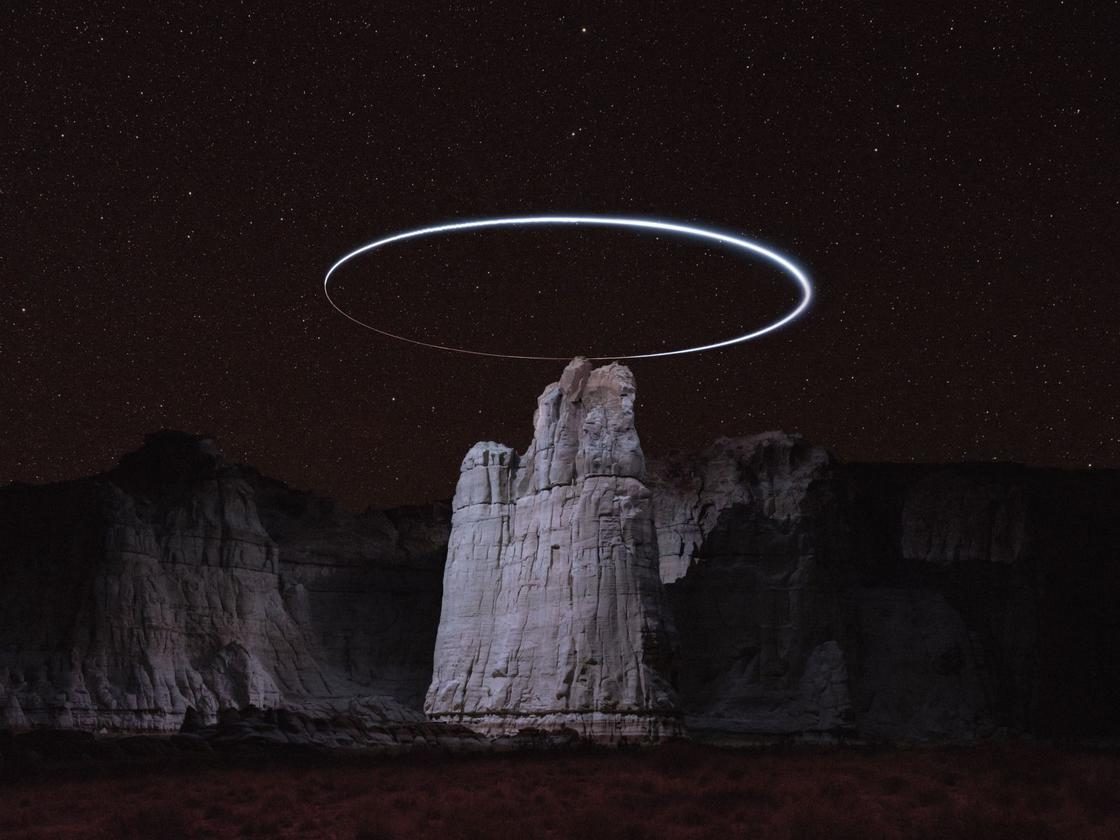 Lux Noctis – This photographer is illuminating the mountains with drones