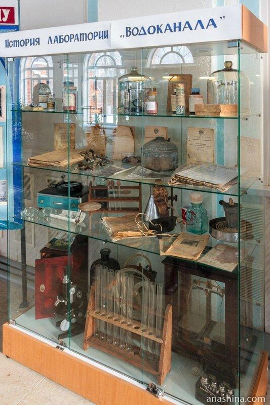 История лаборатории Водоканала, Мытищинская насосная станция