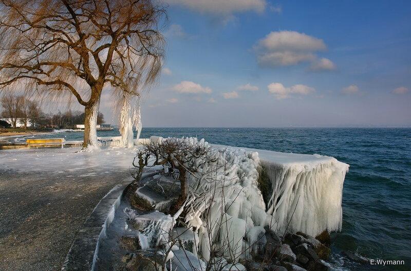 скульпторы: Мороз и Ветер