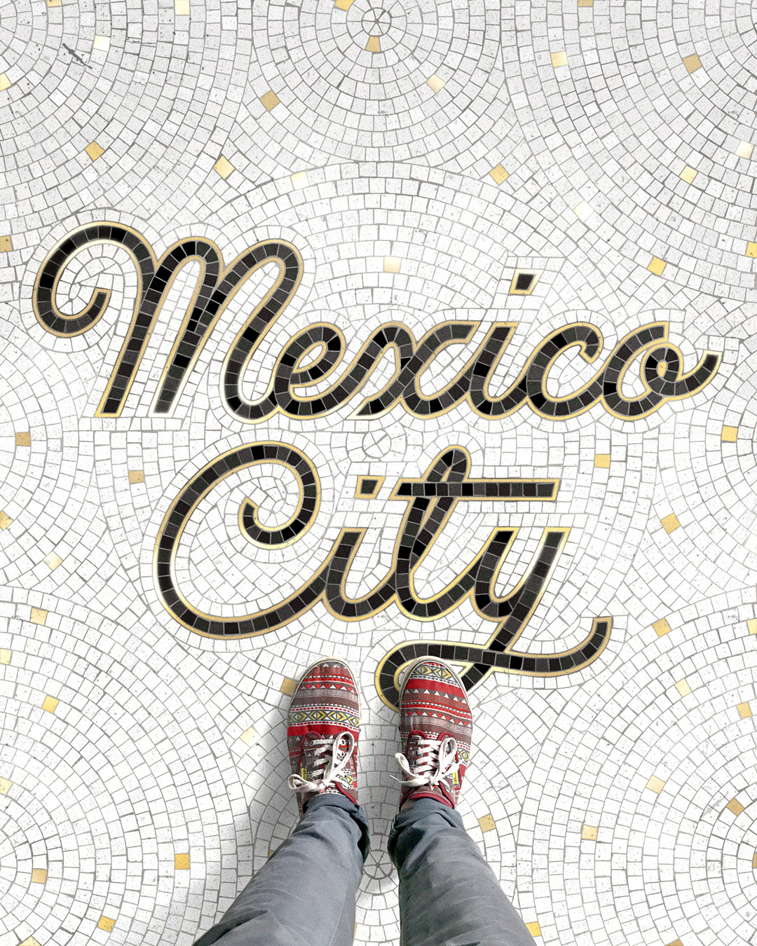 Wonderful Fictional Mosaics of Different Cities