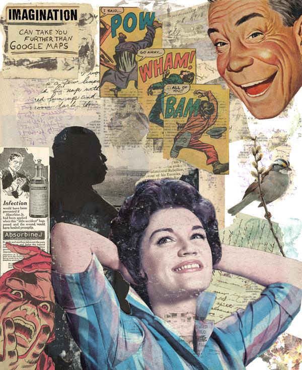Vintage Style Collages - Ruben Salavert
