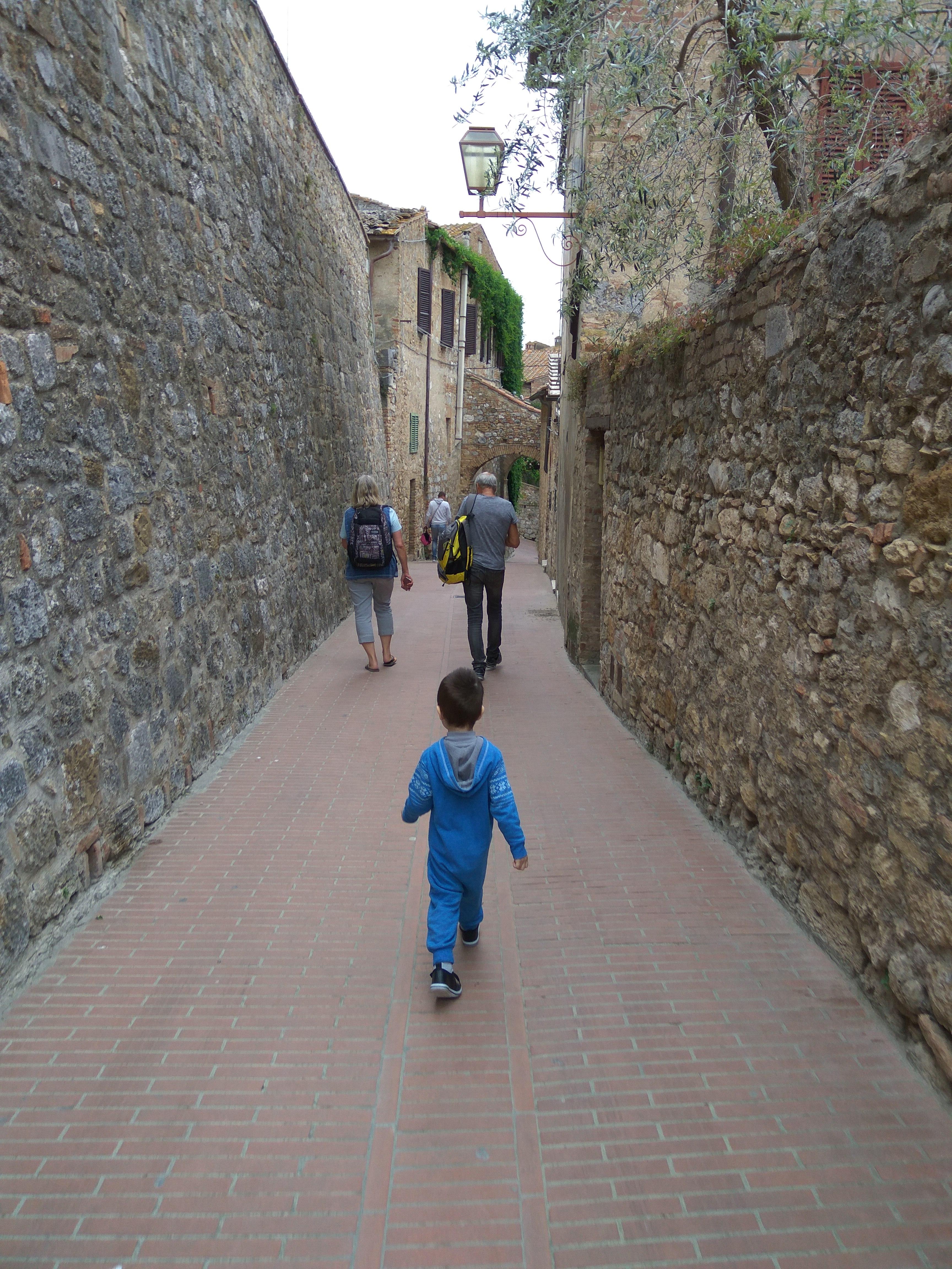 Тоскана - любовь с первого взгляда! (путешествие семьи с ребенком на общественном транспорте)