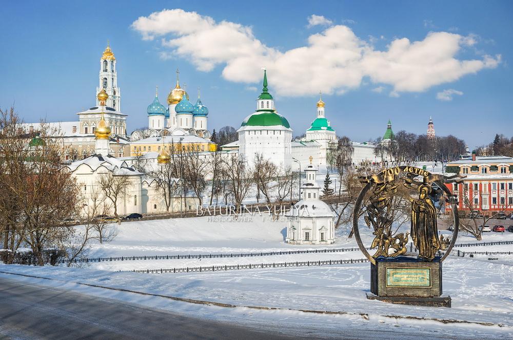 Тур по Золотому Кольцу России на зимние каникулы!