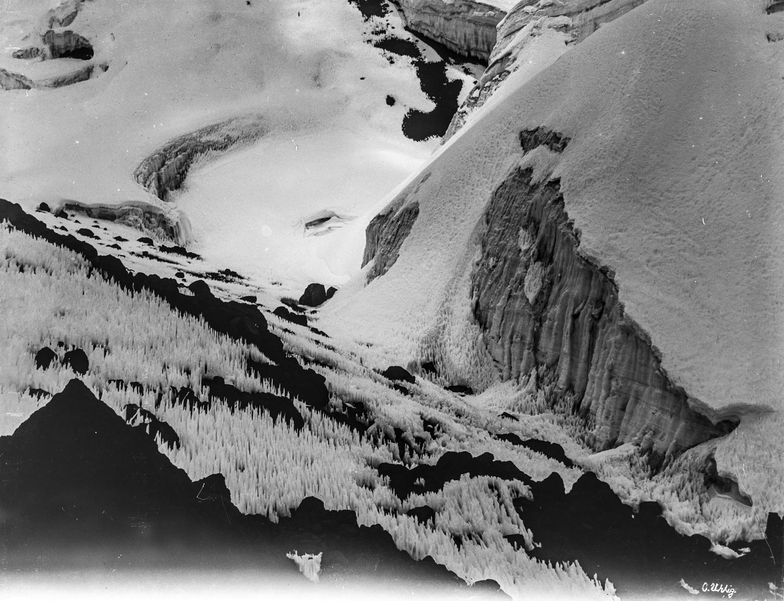78. Горы, покрытые снегом и льдом