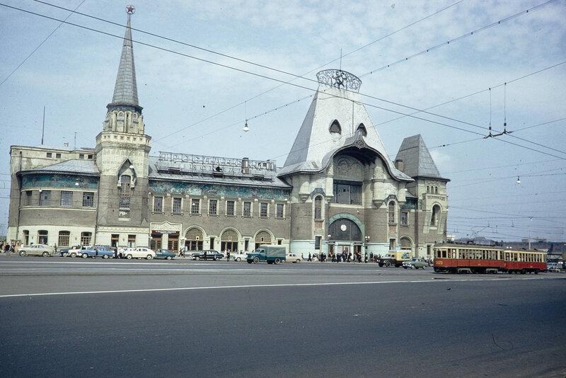 1959 Ярославский вокзал. Harrison Forman.jpg