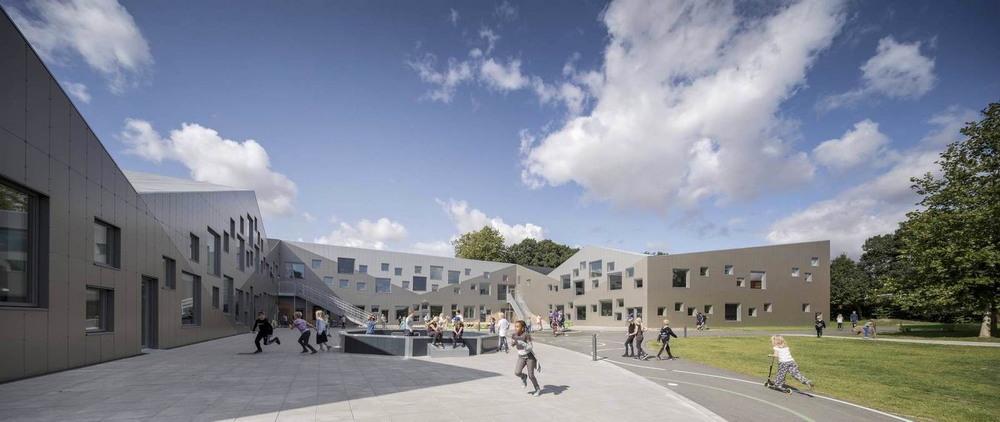 Новая начальная школа в Дании