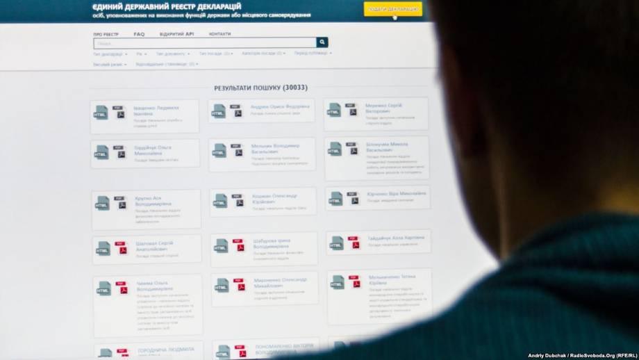 США призывают Киев отменить «карательный закон» о е-декларирования в отношении активистов