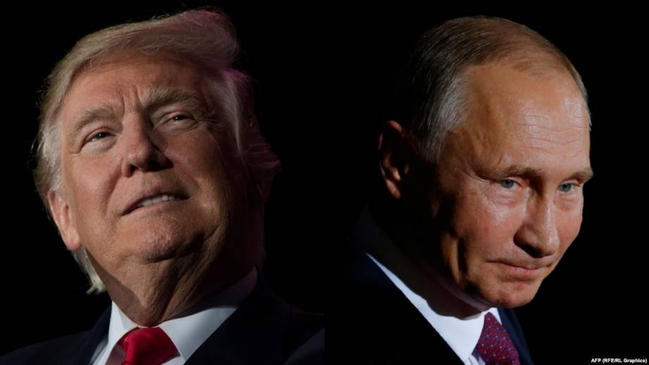 Трамп о поздравление Путина: согласия с Россией – это «доброе дело»