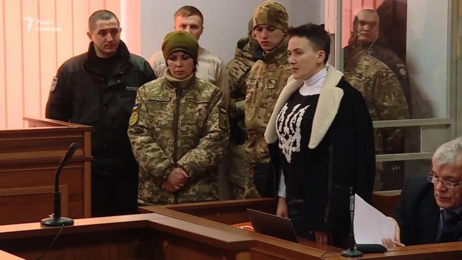 «До встречи на свободе!» – Надежду Савченко отправили в СИЗО (видео)