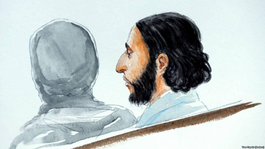 Приговор подозреваемому в парижских нападениях должны объявить 23 апреля