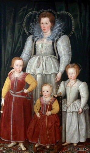 Подборка картин «Дамы с детьми в живописи»