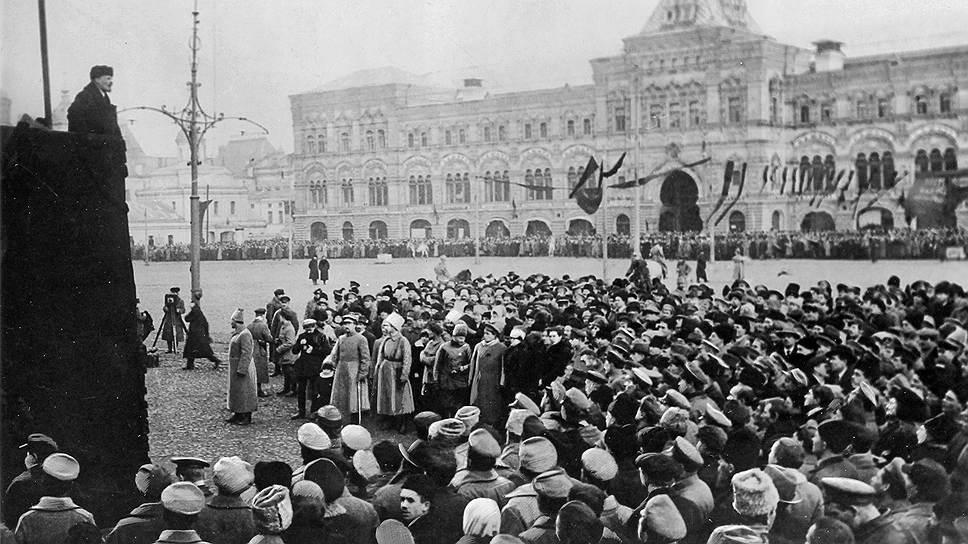 23 февраля Ленин в Москве