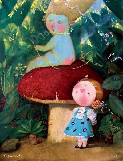 «Алиса в стране чудес»: иллюстрации Евгении Гапчинской