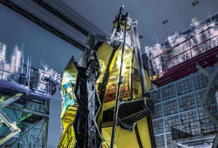 Телескоп «Джеймс Уэбб» – самый мощный телескоп в мире (29 фото)