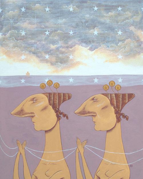 Майкл Эззелл Майкл, мифологии, модой, отношение, вздор, сочетает, истории, периодов, декадентских, модных, самых, элементы, визуальные, вызывая, сказок, Эззелл, возникают, иллюстраций, Концепции, студии