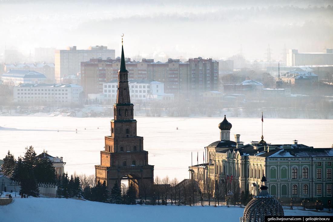 Зимняя Казань — 2018