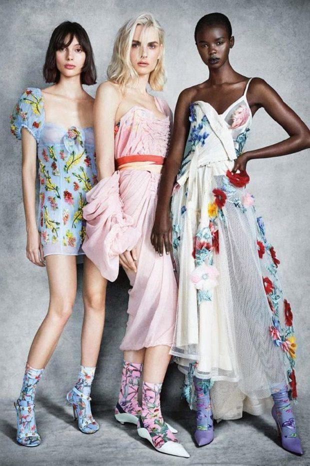 Fernanda Ly, Akiima, Charlee Fraser & Andreja Pejic for Vogue Australia