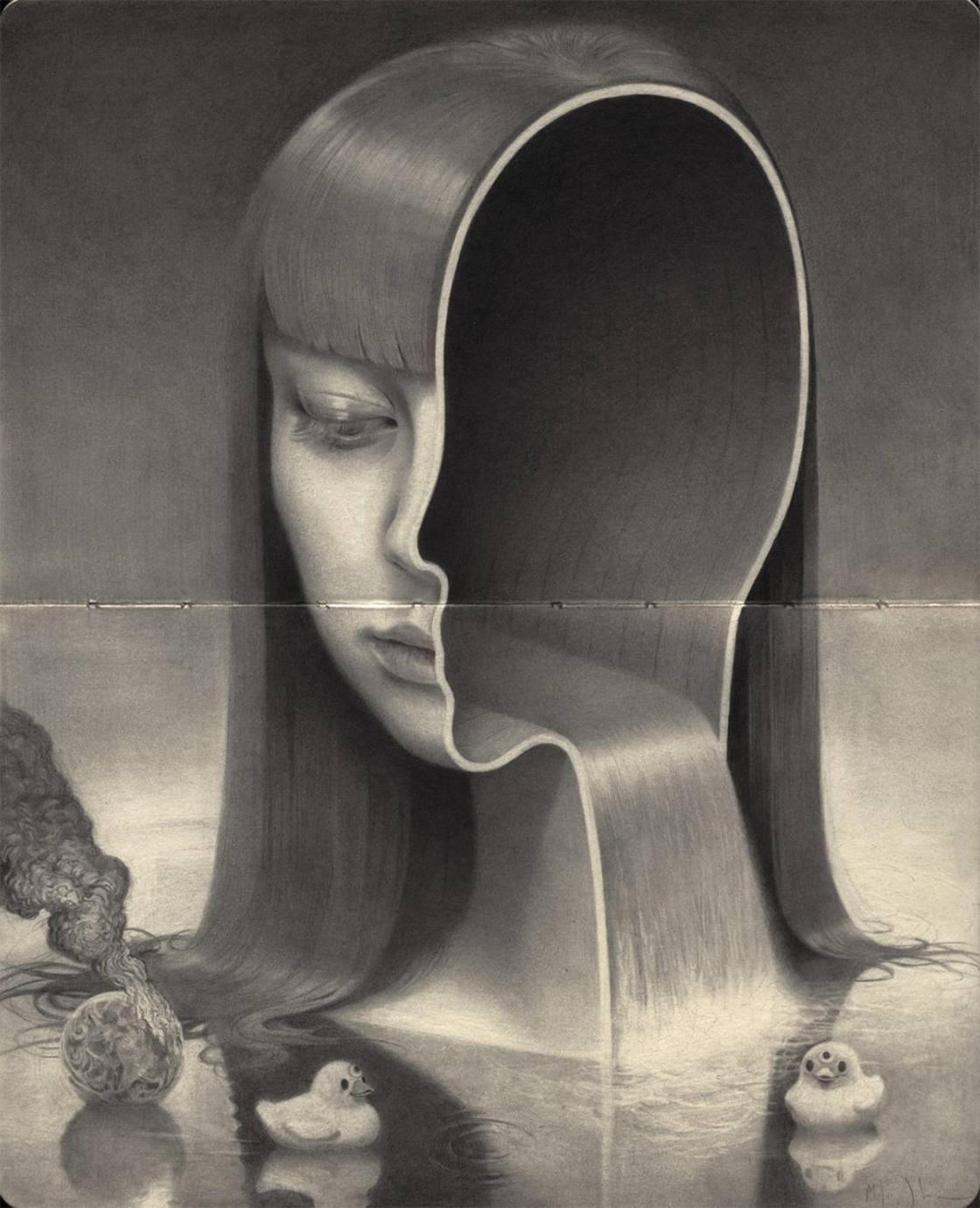 Dualism – The fascinating surreal paintings by Miles Johnston
