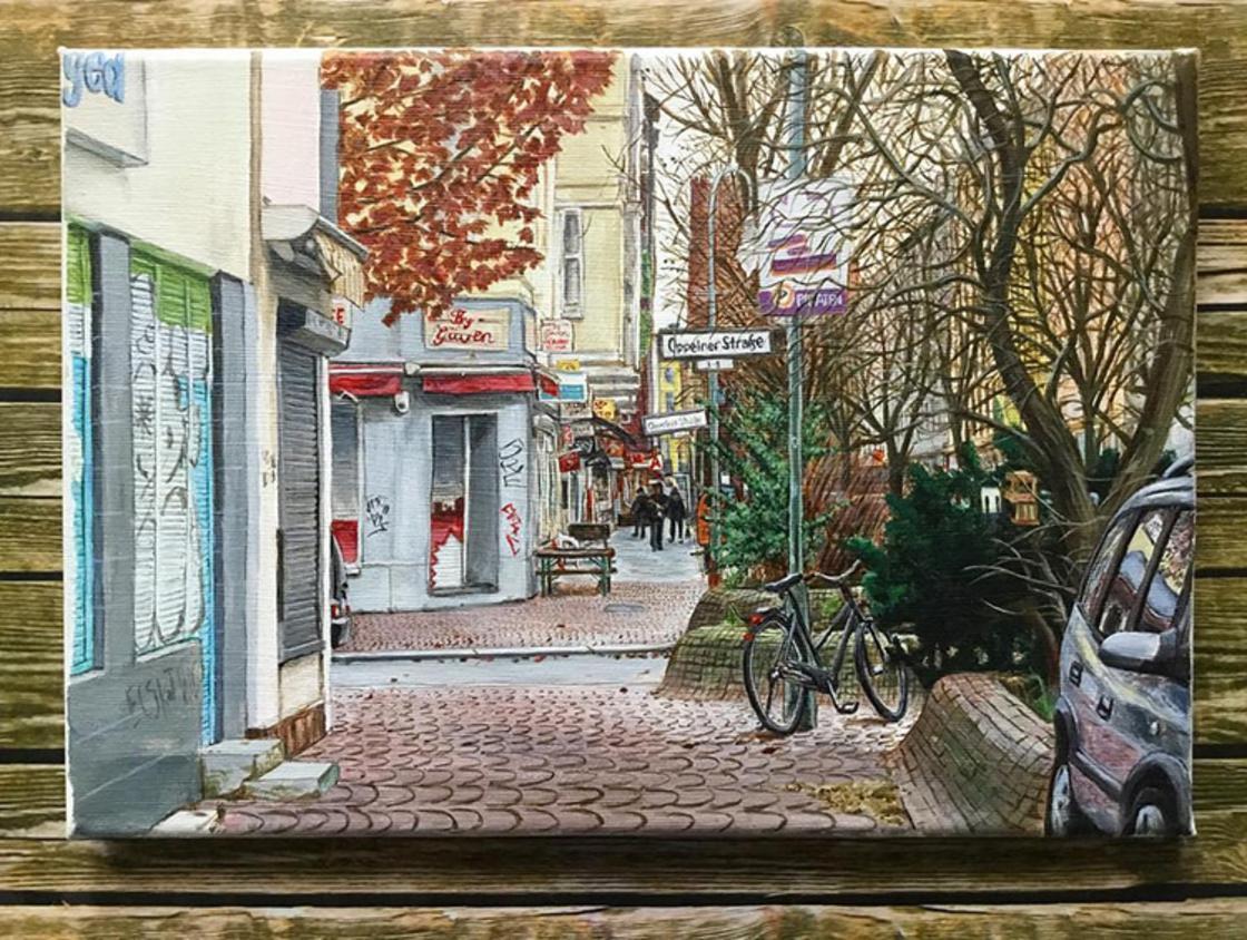 Berlin Sketchbooks – Il capture les rues de Berlin dans de jolis croquis (23 pics)