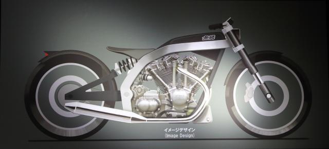 Концепт двигателя Mugen V-Twin