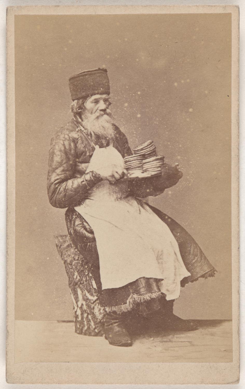 Продавец оладий
