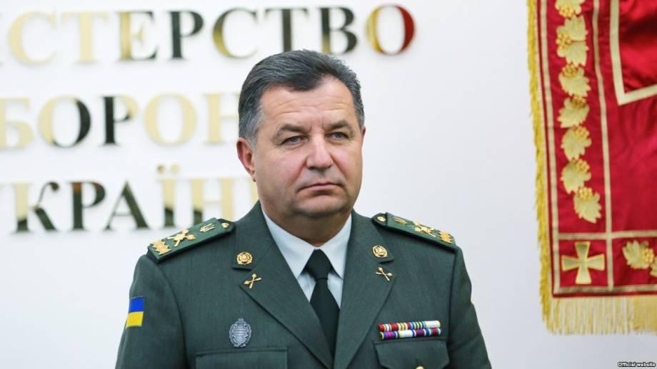 Полторак: Россия на границе с Украиной сосредоточила войско численностью более 77 тысяч человек