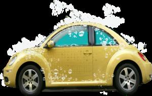 желтые авто