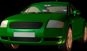 авто зеленое