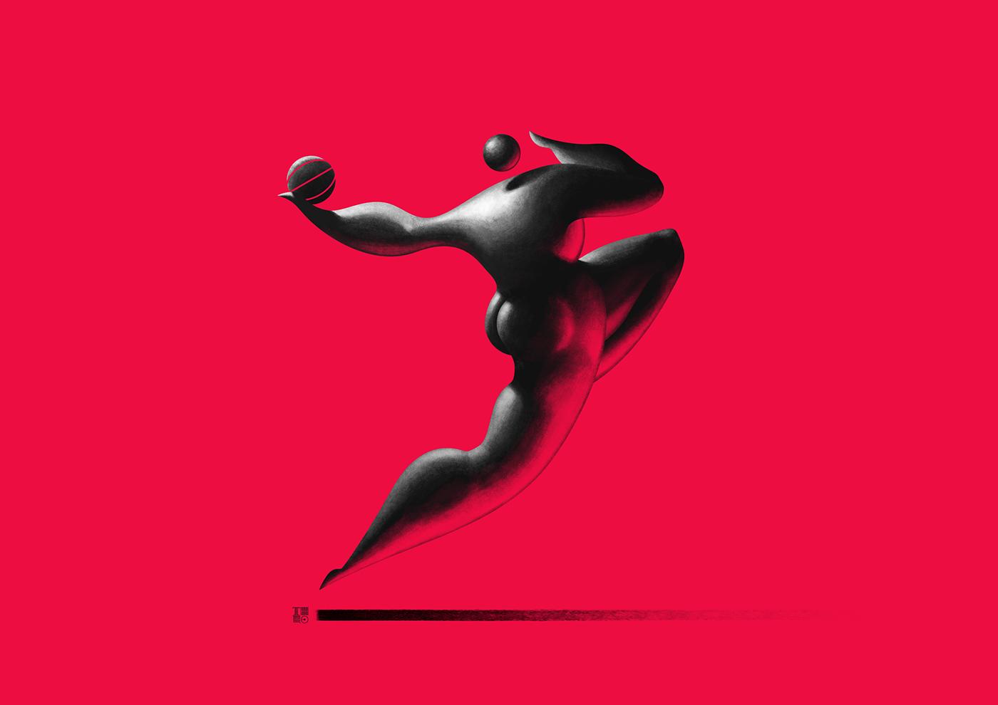 BASKETBALL / работы Theo Cardinali