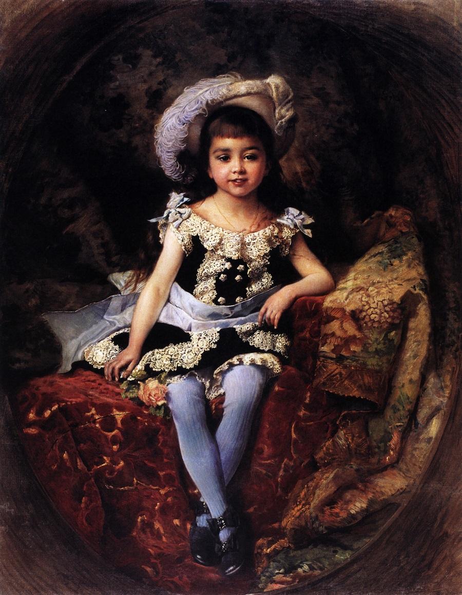 Детский портрет. 1879.