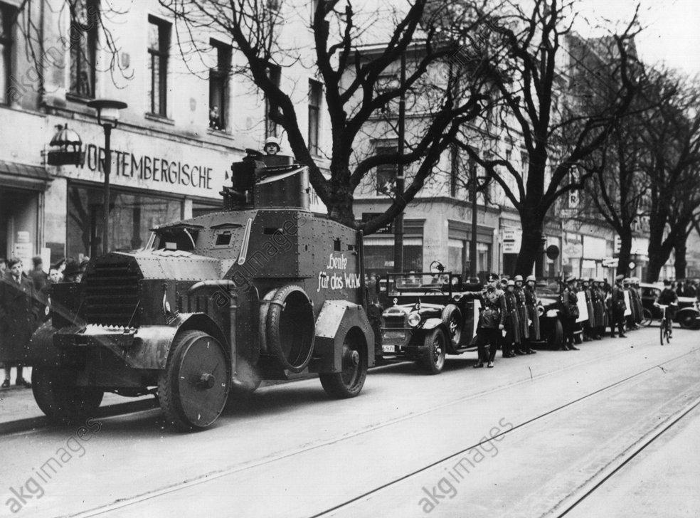 Panzerwagen der Polizei 1937 - -