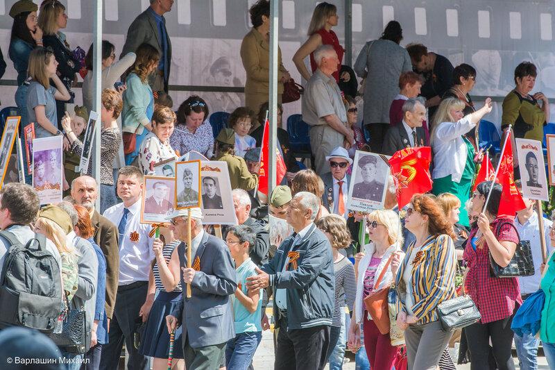 «Бессмертный полк» в Астрахани 9 мая 2017г.