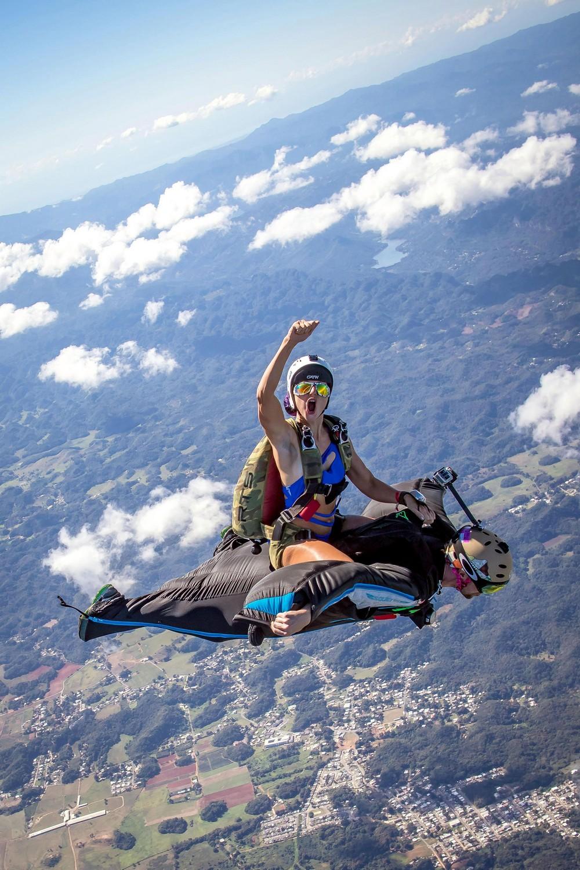 Воздушное родео на высоте 1500 метров