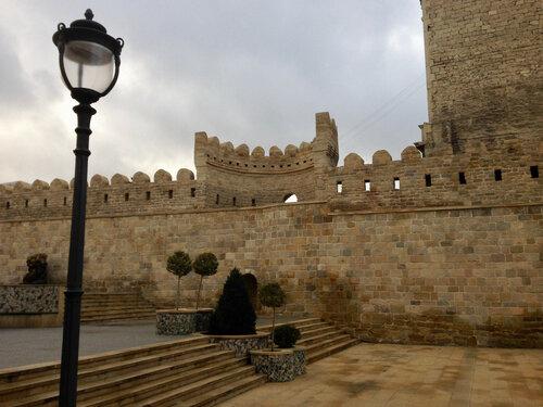 крепость Баку