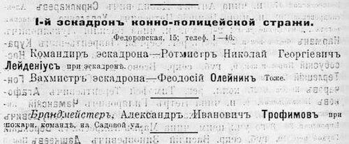 1914 Лейдениус Ник.Георг.- Ротмистр (АК на 1914).JPG