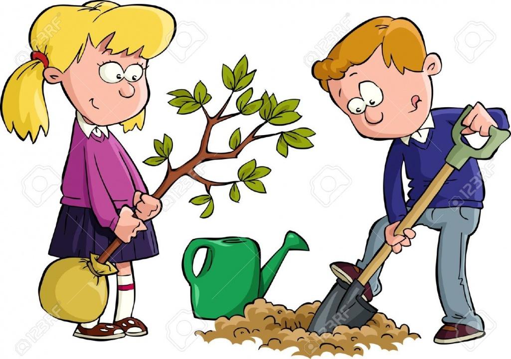 Посадить дерево - яркий способ помочь природе!