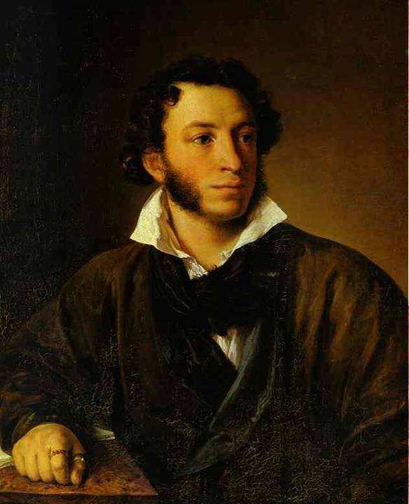 Тропинин Портрет Пушкина