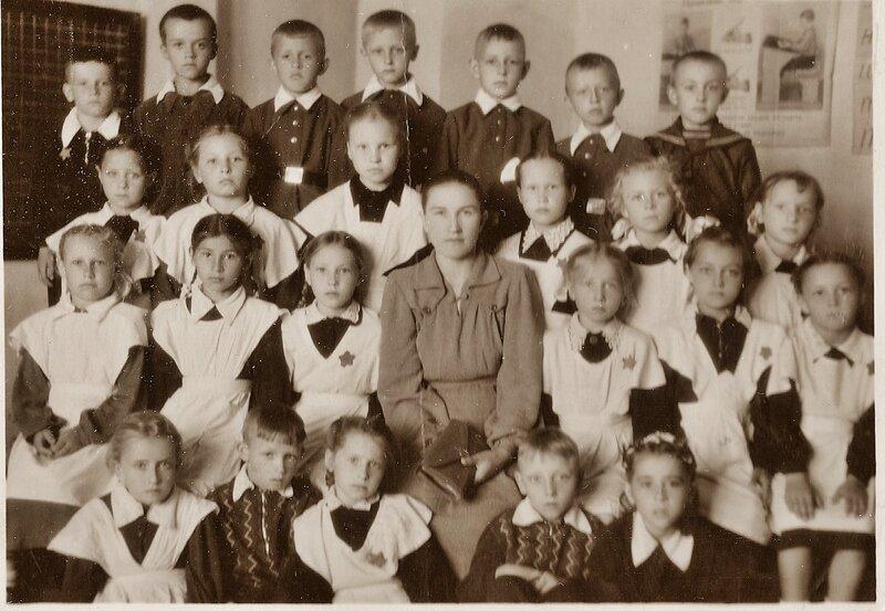 Славгород, школьная фотография 1962 год.