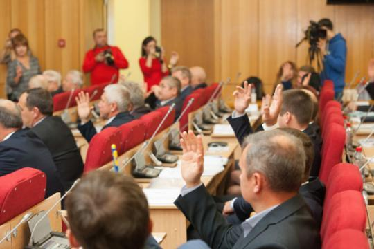 Народные избранники  кировского парламента частично отказали себе вкомпенсациях