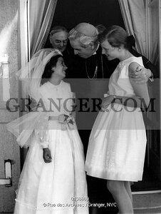 First communion of princess Marie-Esmeralda in august 1964, Princess Marie-Christine