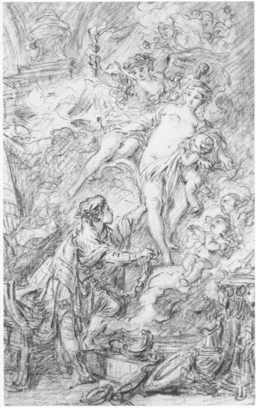 Пігмаліон і Галатея на картинах різних художників