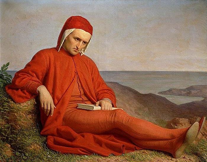 4. В 1302 году Данте изгнали из родного города, сфальсифицировав против него дело о взяточничестве,