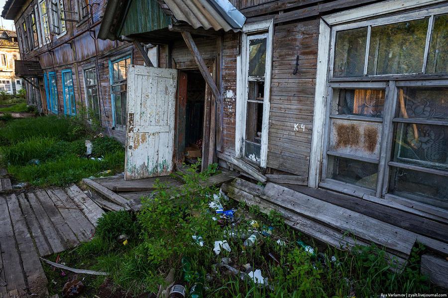 40. Еще раз, 20 000 человек в Архангельске живут в нечеловеческих условиях, в гнилых коммуналках без