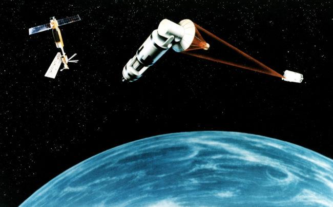 В 1980-х годах Рональд Рейган запустил масштабный оборонный проект под названием Стратегическая